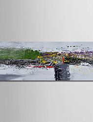 preiswerte -Hang-Ölgemälde Handgemalte - Abstrakt Modern Segeltuch