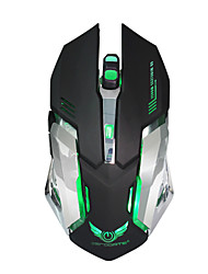 cheap -Factory OEM Wireless 2.4G Gaming Mouse 6 pcs keys Led light 4 Adjustable DPI Levels 6 programmable keys 3200 dpi