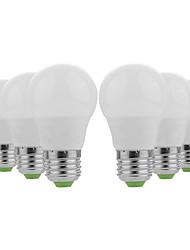 Недорогие -ywxlight® e27 / e26 5730smd 3w 6led теплая белая круглая белая светодиодная лампа водить не мерцает высокой яркостью светодиодные шарики 12v