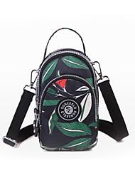 cheap -Women's Bags Nylon Mobile Phone Bag Zipper Blue / Green / Red