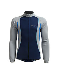 cheap -Jaggad Long Sleeve Cycling Jersey - Dark Navy Bike Breathable / Stretchy