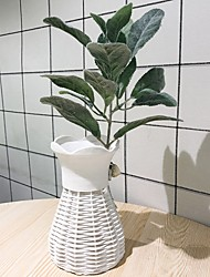 preiswerte -Künstliche Blumen 1 Ast Klassisch Modern / Zeitgenössisch / Simple Style Pflanzen