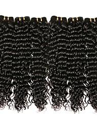 abordables -Lot de 6 Cheveux Brésiliens Ondulation profonde 8A Cheveux Naturel humain Bundle cheveux One Pack Solution Extensions Naturelles 8-28 pouce Couleur naturelle Tissages de cheveux humains Extention