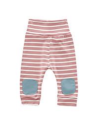abordables -Bebé Chica Vintage Un Color Algodón Leggings