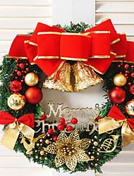 baratos -Guirlandas / Decoração Férias Plástico Redonda Novidades Decoração de Natal