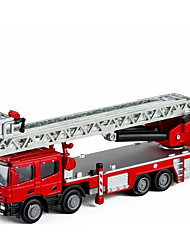 cheap -Toy Car Fire Engine Vehicle Fire Engine New Design Metal Alloy All Child's / Teenager Gift 1 pcs
