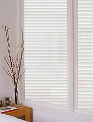 abordables -Film de fenêtre et autocollants Décoration Ordinaire Rayé PVC Autocollant de Fenêtre