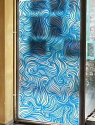 cheap -Window Film & Stickers Decoration Contemporary Print / Simple PVC(PolyVinyl Chloride) Window Sticker