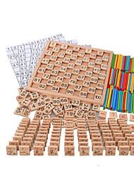Недорогие -Числа Новый дизайн деревянный Детские Все Мальчики Девочки Игрушки Подарок 1 pcs