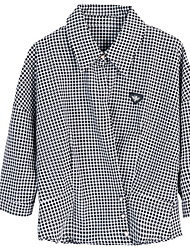 cheap -women's shirt - plaid shirt collar
