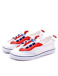 Недорогие -Мальчики / Девочки Обувь Сетка Лето Удобная обувь Кеды для Белый / Красный / Белый / Желтый