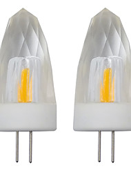 cheap -2pcs 3 W 150-200 lm G4 LED Candle Lights 1 LED Beads COB Decorative Warm White / Cold White 110-120 V