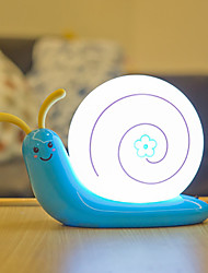 cheap -1 set LED Night Light Warm White+White AA Batteries Powered / DC Powered For Children / Cartoon / Lovely 5 V