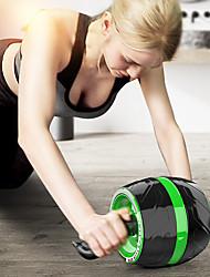 baratos -Rolo de roda ab Com 1 pcs TPE / PP Durável Treinamento, Queimador De Gordura De Barriga, Tonificação Abdominal, Construtor Muscular Para Exercício e Atividade Física / Ginásio / Musculação Cintura e