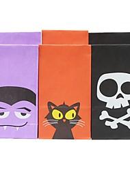baratos -Cubóide Arte de Papel / / / Papel não tecido Suportes para Lembrancinhas com Estampa Caixas de Presente