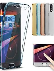 Недорогие -Кейс для Назначение Huawei P20 Pro / P20 lite Прозрачный Чехол Однотонный Мягкий ТПУ для Huawei P20 / Huawei P20 Pro / Huawei P20 lite