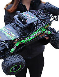 abordables -Voitures RC  Giantfoot Monster Truck Crawlers 4WD 4 canaux 2.4G Buggy (Hors des routes) / Rock Climbing Car / 4 roues motrices 1:12 9 km/h Eau / saleté+D4731 / antichoc / Simulation / Interaction