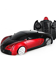 baratos -Carro com CR MZ MZ 4CH Infravermelho Carro 1:24 20 km/h KM / H Transformável / Luminoso / Função de escalada