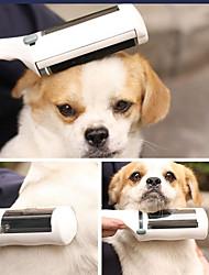 Недорогие -Собаки / Коты Уход Расчески Чехол в комплекте / Регулируемая гибкая Белый
