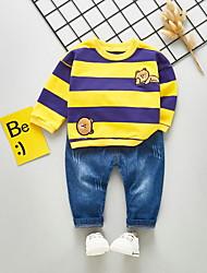 povoljno -Dijete Dječaci Print Dugih rukava Komplet odjeće