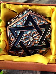 Недорогие -Место хранения организация Ювелирная коллекция Сплав Нерегулярная форма Открытая крышка