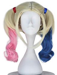 Недорогие -Косплэй парики Косплей Косплей Бежевый Аниме Косплэй парики 16 дюймовый Термостойкое волокно Все Хэллоуин парики