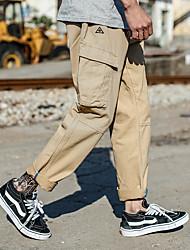 Недорогие -Муж. Штаны для туризма и прогулок На открытом воздухе Пригодно для носки Брюки Рыбалка / Пешеходный туризм / Прогулки