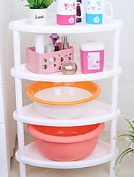 Недорогие -Полка для ванной Новый дизайн / Cool Современный Пластик 1шт Установка на полу