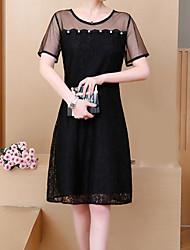 cheap -Women's Going out Slim Little Black Dress