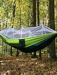 cheap -Camping Hammock with Mosquito Net Outdoor Collapsible, Anti-Mosquito Nylon for Camping / Camping / Hiking / Caving / Outdoor - 1