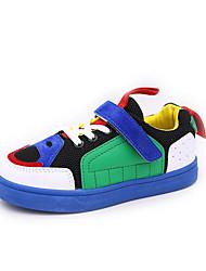 cheap -Girls' Shoes Mesh Fall & Winter Comfort Sneakers Walking Shoes Buckle for Kids Gray / Green / Pink