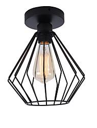 economico -moderno mini plafoniera in metallo industriale ristorante cafe 1 luce stile vintage lampada da incasso