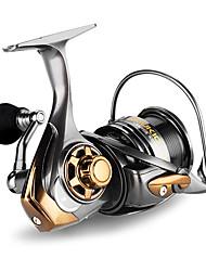 economico -Mulinelli da pesca Mulinelli per spinning 7.1:1 Rapporto di trasmissione+6 Cuscinetti a sfera Mano Orientamento Intercambiabile Pesca di mare / Pesca a mulinello / Pesca con esca