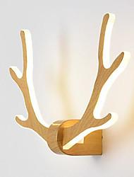 Недорогие -Очаровательный / обожаемый LED / Модерн Настенные светильники Спальня / Кабинет / Офис Металл настенный светильник IP44 110-120Вольт / 220-240Вольт 24 W