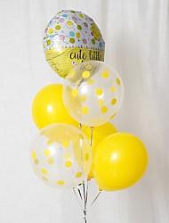 cheap -Balloon Bundle Latex 6pcs Baby Shower / Fairytale Theme