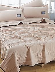 baratos -Confortável - 1 Cobertura de Cama Verão Algodão Sólido
