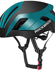 billiga Sport och friluftsliv-ROCKBROS Vuxna cykelhjälm 15 Ventiler ESP+PC, PC sporter Cykling / Cykel / Camping / Cykel - Svart / röd / Svart / grön / Svart / Blå Unisex