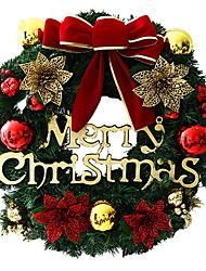 Недорогие -Гирлянды / Рождественские украшения Праздник PVC Круглый Для вечеринок / Оригинальные Рождественские украшения