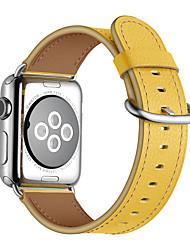 economico -Cinturino per orologio  per Apple Watch Series 4/3/2/1 Apple Chiusura classica Vera pelle Custodia con cinturino a strappo