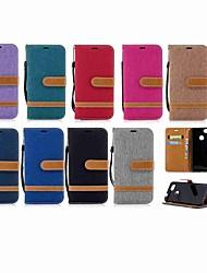 baratos -Capinha Para Huawei P20 Pro / P smart Carteira / Porta-Cartão / Com Suporte Capa Proteção Completa Sólido Rígida Têxtil para Huawei P20 / Huawei P20 Pro / Huawei P20 lite / P10 Plus / P10 Lite / P10