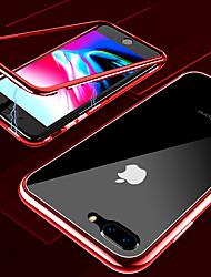baratos -Capinha Para Apple iPhone X / iPhone XS Max Transparente Capa Proteção Completa Sólido Rígida Vidro Temperado / Metal para iPhone XS / iPhone XR / iPhone XS Max
