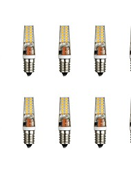 abordables -10pcs 3 W 300 lm E14 LED à Double Broches T 28 Perles LED SMD 2835 Blanc Chaud / Blanc 85-265 V