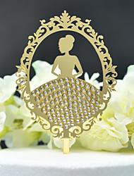 ราคาถูก -อุปกรณ์แต่งหน้าเค้ก ธีมคลาสสิก / การแต่งงาน ตัดออก อคริลิค / โพลีเอสเตอร์ งานแต่งงาน / วันเกิด กับ อคริลิค 1 pcs PVC Bag