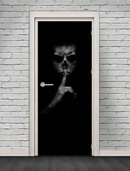Недорогие -Декоративные наклейки на стены - Простые наклейки Halloween В помещении