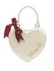 cheap -Bag Bag Stylish Sweet Lolita Women's Black / Fuchsia / Golden Lolita Accessories Embroidered Love Bag PU Leather / Polyurethane Leather Halloween Costumes