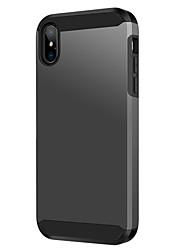 baratos -Caso bentoben para apple iphone xs max à prova de choque / fosco / receptor de carregamento sem fio case casos de corpo inteiro sólido colorido rígido tpu / pc para iphone xs max