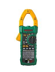 Недорогие -mastech ms2115a цифровой измеритель зажима истинный среднеквадратичный ток постоянного тока 6000 счетчиков сопротивление напряжения емкость ncv тестер
