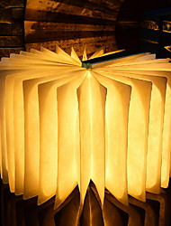 billige Originale lamper-1pc LED Night Light Usb Nytt Design / Kreativ <=36 V