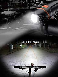 baratos -Luzes de Bicicleta / Luz Frontal para Bicicleta / luzes de segurança LED Luzes de Bicicleta XP-G2 Ciclismo Impermeável, Portátil, Libertação Rápida Li-polímero 350 lm Built-in Li-Battery Powered