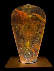 abordables -1pc 3 W 160 lm E26 / E27 ST64 1 Perles LED LED Haute Puissance Créatif / Design nouveau / Décorative Blanc Chaud 90-240 V